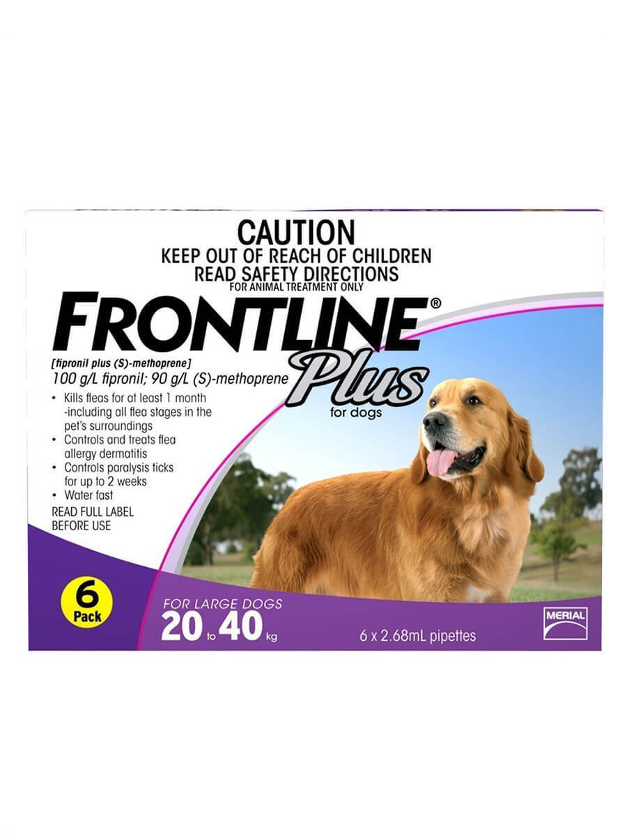 Generic Frontline Plus For Dogs Reviews