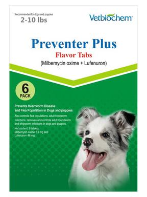 Generic Sentinel Flavor Tabs (Milbemycin oxime & Lufenuron)